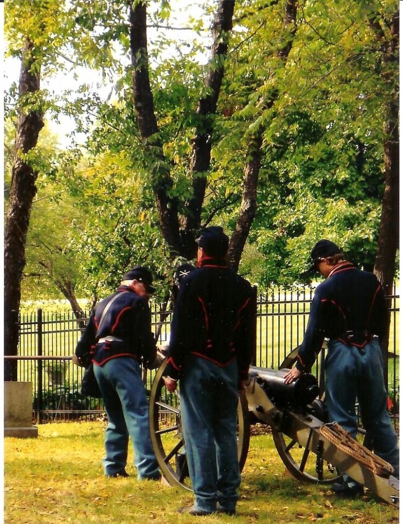 Cady Cemetery Cannon