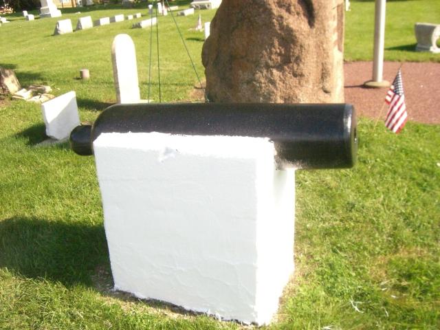 Restored Hillside Cannon
